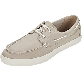 Timberland Newport Bay 2 Eye Boat Oxford Shoes Men Light Taupe Canvas